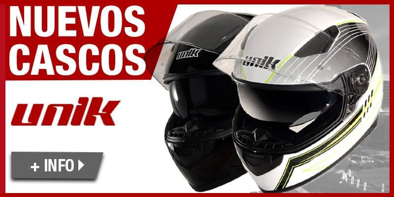 Nuevos cascos UNIK