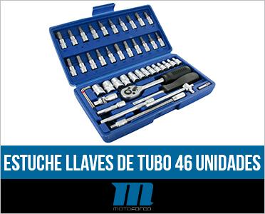 Caja de herramientas Motoforce 46 piezas