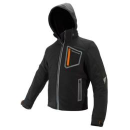 Chaqueta Invierno con protecciones ON BOARD Softshell Negra ref: A-JMSOFBBB