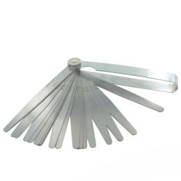 Galgas de espesor Motoforce, 20 medidas (0,1-1,00mm), universal