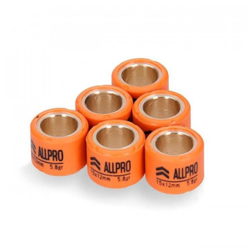 Rodillos Allpro - elige medida / peso