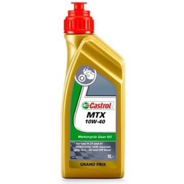 Aceite transmisión 2T/4T 10W40 1L Castrol MTX mineral