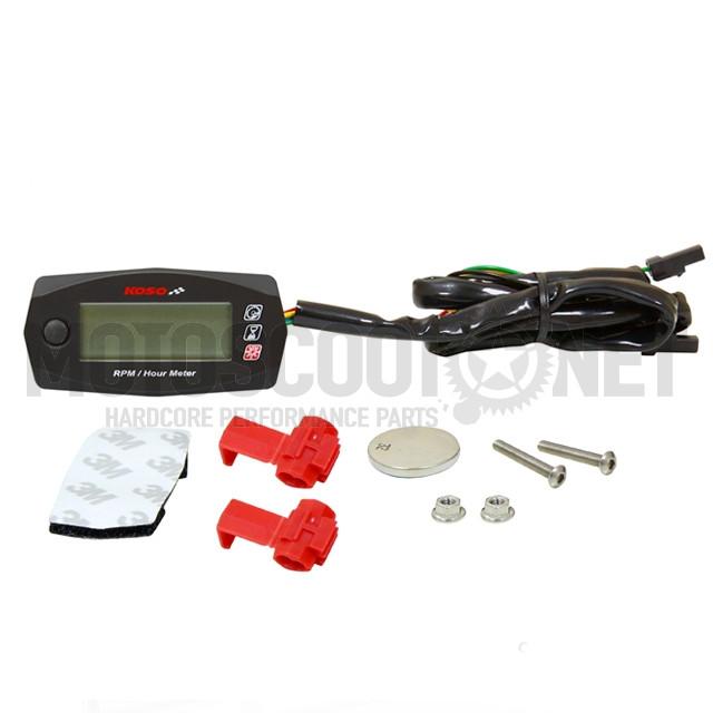 Marcador RPM y cuenta horas Koso ref: BA033W00