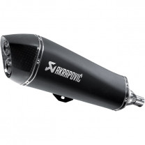 Escape Slip-On Line Gilera Fuocco 500 Piaggio Beverly 500 (CE) Acero Inoxidable Black Akrapovic