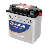 Batería Tecnium 6N6-3B-1 con ácido