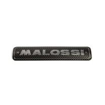 Placa adhesiva aluminio horizontal para escape Malossi