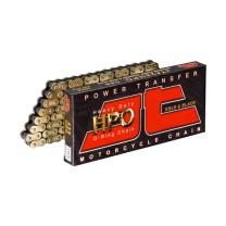 Cadena 428 HPO (O-Ring) 126 eslabones Dorada JT Sprockets