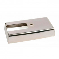 Cubierta interruptor del intermitente, SIP para Vespa P80-150X/PX80-200E /Lusso 1°/P200E aluminio pulido