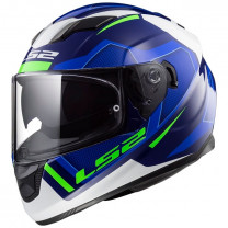 Casco integral LS2 FF320 Stream Evo Axis Blue White