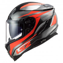Casco Integral LS2 FF327 Cannon Jeans Naranja fluo