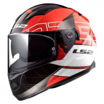 Casco integral LS2 FF320 STREAM evo KUB Black Red