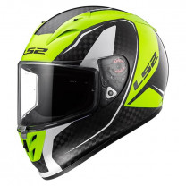 Casco integral LS2 FF323 Arrow H-Vis Yellow - Fury Carbon