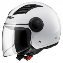 Casco Jet Airflow LS2 OF562 Solid Blanco