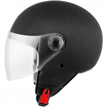 Casco MT Helmets OF501 Street Solid Negro Mate