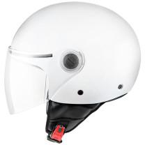 Casco MT Helmets OF501 Street Solid Blanco Perla Brillo
