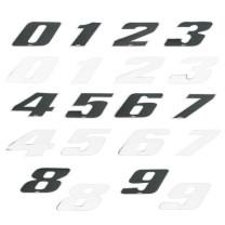 """Pegatina """"Número de Competición"""" 8cm - 4R - LaserCut"""