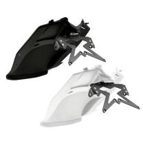 Portamatrículas ErMax Tmax 2012 con Led y paso de rueda