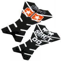 Protector depósito con logos de Stage6 o Stage R/T, 14.2 x 21 cm