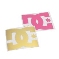 Pegatina DC (10cm) - elige color: