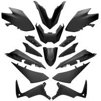 Kit de carenados Yamaha TMax 530 SX/DX 17-19 15 Piezas negro mate Allpro