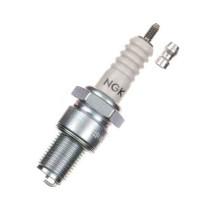 Bujía NGK Iridio rosca larga B10EG, electrodo curvado (Aprilia, Honda, KTM) (B10EG)