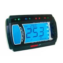 Marcador completo Koso ATV XR-SRN Rpm, Temp, Cuenta horas, 2T/4T iluminado azul