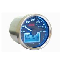 Velocímetro KOSO GP Style D55 max 160 kmh negro