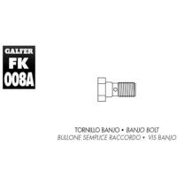 Tornillo banjo M10x1.25 Galfer