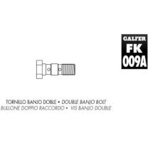 Tornillo banjo doble M10x1.25 Galfer