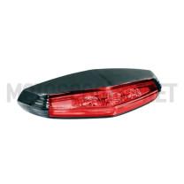 Piloto trasero universal LED Koso Taillight Mini GT-01 - Homologado