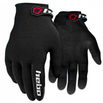 Guantes trial Hebo Team Junior II Negro