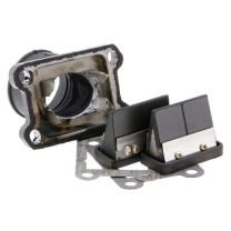 Sistema de admisión AM6/Derbi d=35mm Doble prisma carbono Italkit
