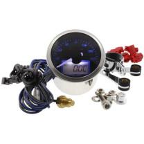 Cuentarrevoluciones KOSO Eclipse Style, RPM / TEMP, 0-16.000 RPM, 0-150°C, d= 55mm, iluminado azul