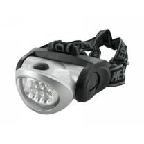 Lampara de cabeza Motoforce, 8 LED