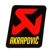 Pegatina anticalorica vertical Akrapovic 70x75mm