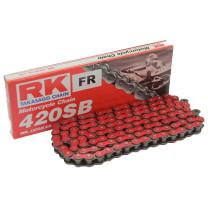 Cadena RK 420SB con136 eslabones Rojo