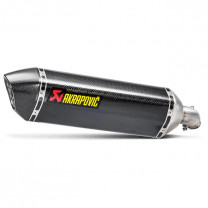 Escape Slip-On Line Suzuki SV 650 (16-20), SV 650 X Cafe Racer (18-20) (CE) Carbono Akrapovic