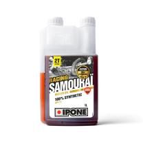 Aceite mezcla 2T 1L Ipone Samouraï Racing Olor Fresa