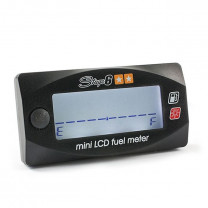Marcador de gasolina Stage6 Mini LCD digital negro