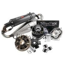 Kit Minarelli horizontal Stage6 Streetrace LC - cilindro Streetrace70cc, escape Pro Replica, variador Sport Pro
