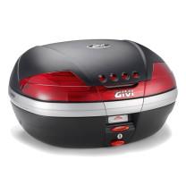 Maleta Monokey® V46 con catadriópticos Rojo 46 lts Givi