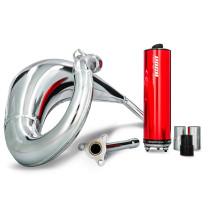 Escape Sherco 50 SM-R / SE-R >14 VOCA Cross Chromed 50/70cc (CE) - Silenciador rojo
