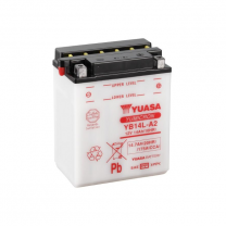 Bateria YB14L-A2 Yuasa con ácido