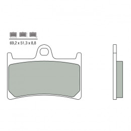 Pastillas Brembo sinterizadas, Delanteras Yamaha Tmax 500 2008-2012, Tmax 530cc 2012