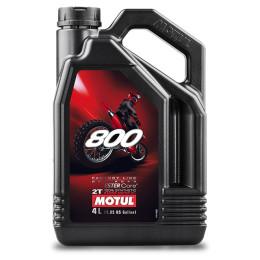 Aceite mezcla 2T 4L Motul 800 Offroad Factory Line