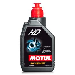 Aceite transmisión 2T/4T 80W90 1L Motul HD Mineral