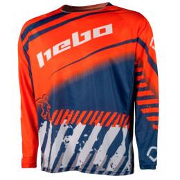 Camiseta Cross junior Hebo Stratos Naranja