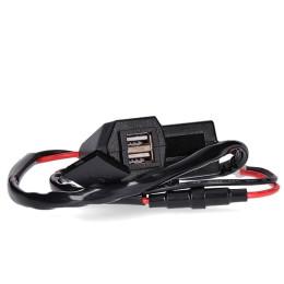 Cargador USB 2 conexiones con indicación LED AllPro