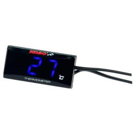 Marcador de temperatura Koso Super Slim Azul