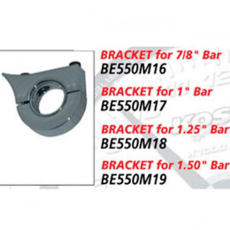 "Soporte para carcasa cromada KOSO GP Style D55, manillares 1-1/2""' (diámetro)"